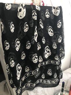 Authentic Alexander McQueen scarf with receipt