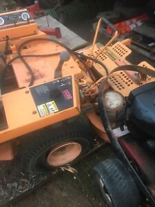 Parting out a scag zero turn commercial lawn mower