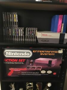 NES Action Set CIB + 24 games