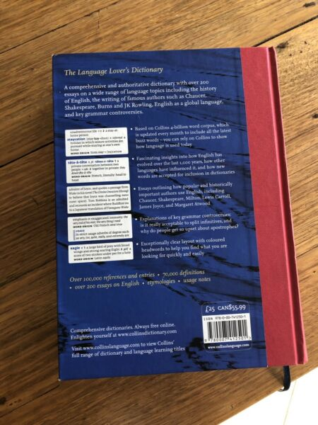 New! Collins Dictionary of the English Language | Textbooks