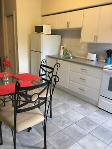 Furnished apartment available for short term rental
