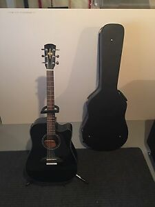 Alvarez Acoustic Guitar, Case and Stand $225 OBO