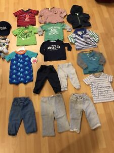 9 months boy clothes( there is 2 pictures )
