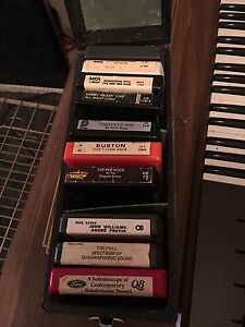 8 tracks assorted! MOVING EVERYTHING MUST GO!