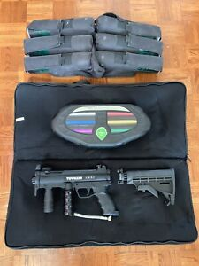 TIPPMANN A-5 , MASK, FREAK BARREL KIT, 6+1 Harness, DYE Pods