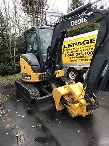 For Rent Deere 35G mini excavator