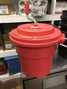 5 gallon commercial salad spinner