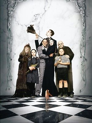 """ADDAMS FAMILY 16"""" x 12"""" Photo Repro Textless Poster"""