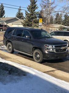 2015 CHEVY TAHOE 4x4 EX CITY POLICE VEHICLE IN EXC.CONDITION!