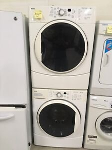 Kenmore stackable washer and dryer set