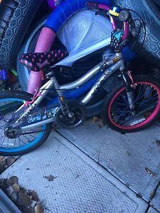 Girls bike monster high