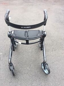 Dolomite walker with seat
