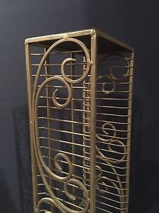 Wrought Iron DVD Stand