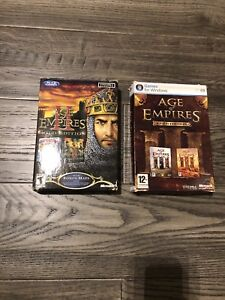 AGE OF EMPIRES 2 & 3  *GOLD EDITION* for Windows