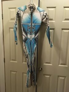 Karbon down hill ski race suit. Perfect for youth 10-13.