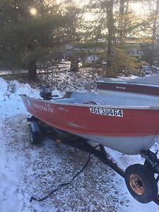 Boat, Motor, Trailer 3500$