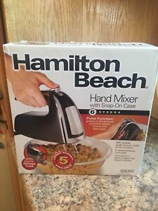 Hand mixer never opened