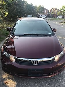 2012 Honda Civic E-tested 80k only