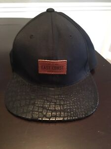 East Coast Lifestyle leather patch SnapBack hat