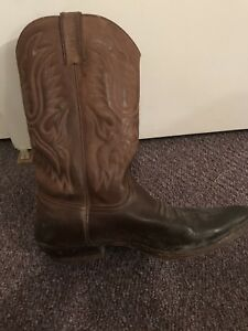 Sancho cowboy boots All leather $70
