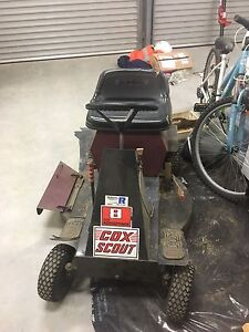 Cox scout ride on mower Honeywood Brighton Area Preview