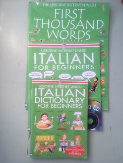Italian Language learning books