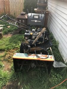 Yard king snow blower