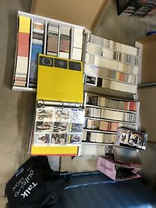 Thousands of sports cards