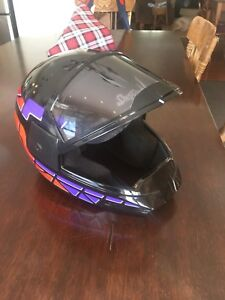 Snowmobile Suit and Helmet