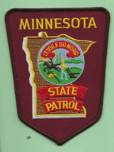 MINNESOTA STATE PATROL  POLICE SHOULDER PATCH