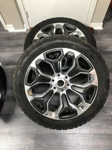 Selling a Pair for 2019 dodge wheels