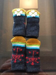 NEW without tags Puppy socks with grips  - extra small