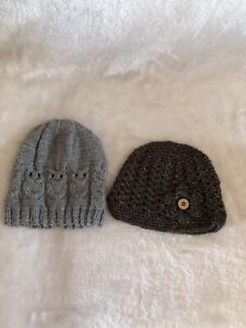Kids knit hats size 4-5