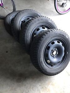 195/65/15 winter tires off of a Jetta City