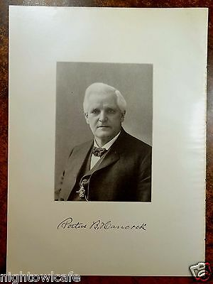 Antique Print 1912 Portus B  Hancock Brockton  Ma Massachusetts