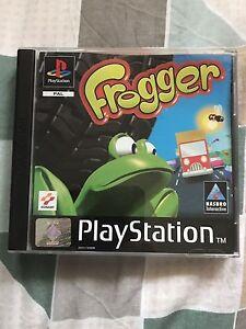 PS1 game Frogger Reynella Morphett Vale Area Preview