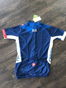 New with tags- Mens medium Castrelli cycling jersey