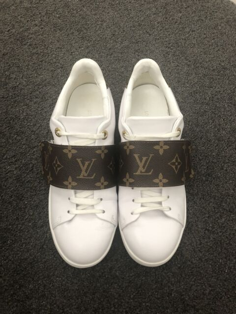 e56a4bcd6af5 Louis Vuitton front row sneakers replica