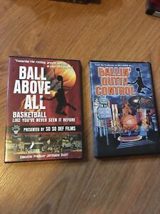 Ball Above All & Balling Out Of Control Basketball DVD