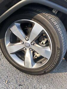 2 pneus ecopia bridgestone 265/50/20