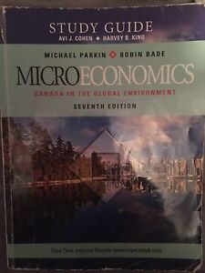 Microeconomics Study Guide: Parking & Bade 7th ed