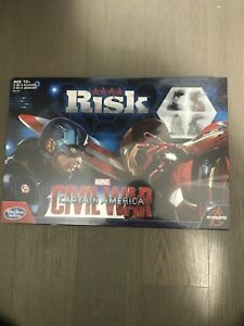 Captain America Risk Board Game