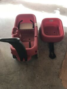 Kids wagon with trailer