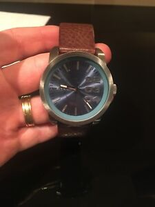 Diesel Watch Leather Strap