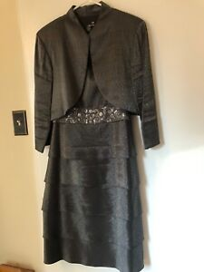 8c212e9424e56 Ladies Size 14 Dress with Bolero Jacket