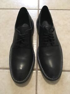 Black Leather Cole Haan Dress Shoes