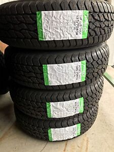 NEW 225/75R16 Four @ $450 tax in