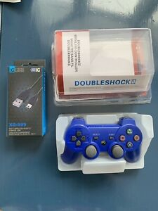 Brand New Wireless PS3 Controller + Charging Cable