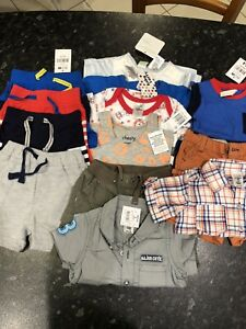 Bundle of baby boys size 00 cloths