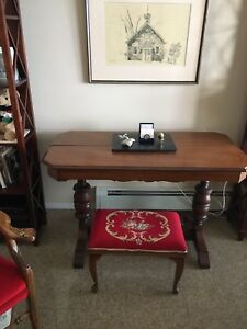 Antique sofa/ library/ dining table/ desk